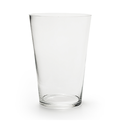 Con. vase 'nina' h28 d20 cm cc