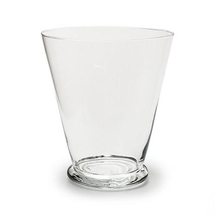 Conical vase 'strike' h24d21,5
