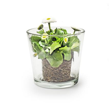 Con. vase 'gerry' h12,5 d13 cm