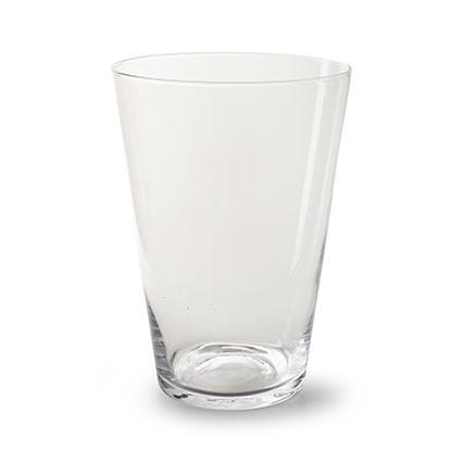 Conical vase 'nina' h28 d20 cm
