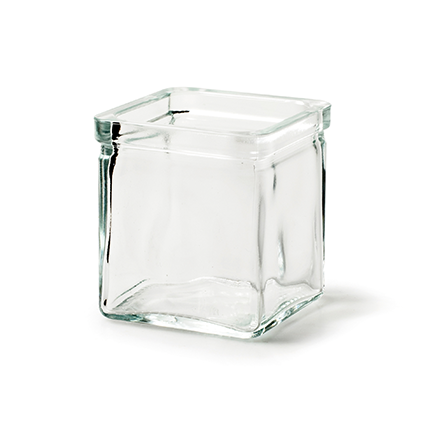 Cube 'cubus' 7x7x8 cm
