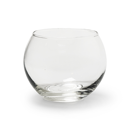 Round vase 'doc' h7 d9,5 cm