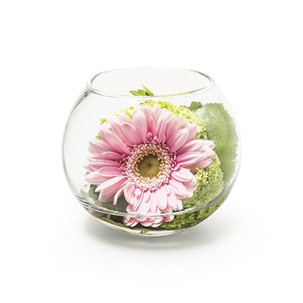 Round vase 'doc' h9,5 d11,5 cm