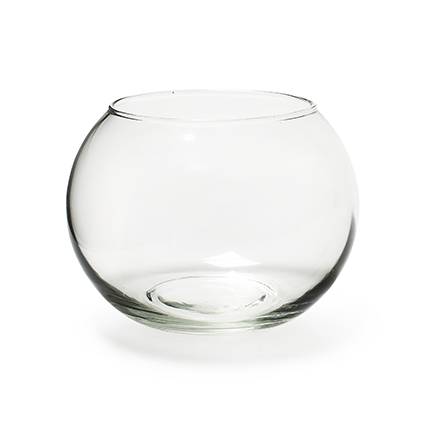 Round vase 'doc' h12 d15 cm