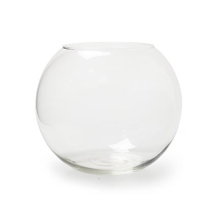 Round vase 'rondo' h22 d26 cm