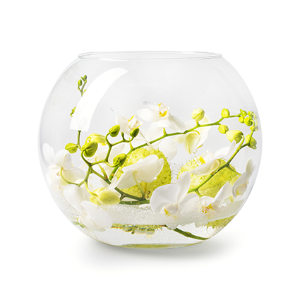 Round vase 'rondo' h25 d29 cm