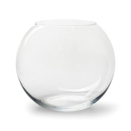 Round vase 'kula' h16 d18 cm
