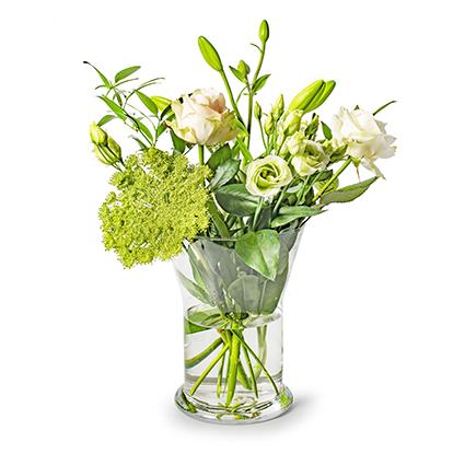 Vase 'diane' h25 d19 cm