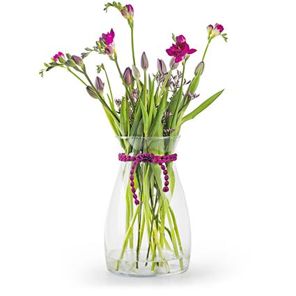 Vase'romeo' h30 d15 cm