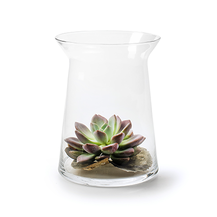 Vase 'begra' h25 d19 cm