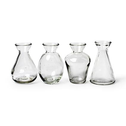 Vase 'libert'' 4-ass h10 cm