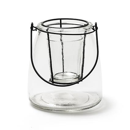 Lantern 'roan' S h13 d11,5 cm