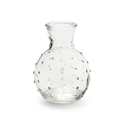 Vase 'spickel' h10 d7 cm
