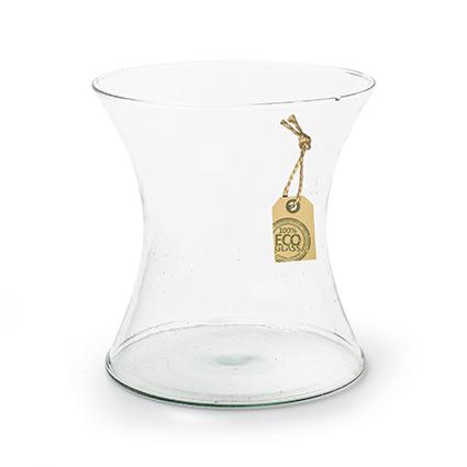 Eco vase 'diabolo' h17 d17 cm
