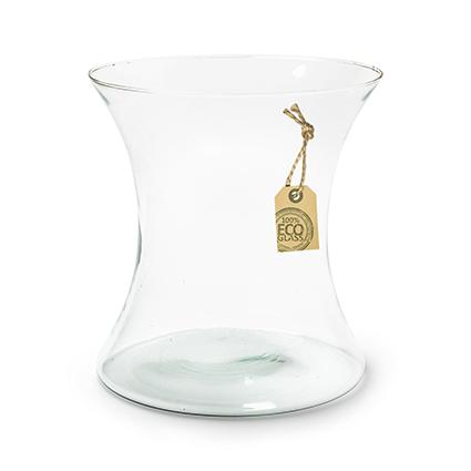 Eco vase 'diabolo' h20 d20 cm