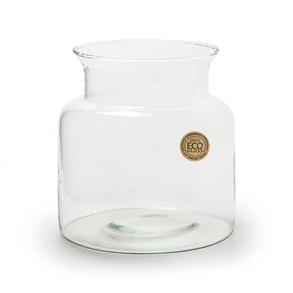 Eco Vase 'nobles' h20 d19 cm