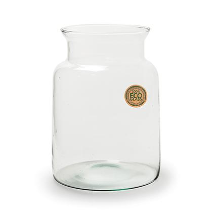Eco Vase 'nobles' h25 d19 cm