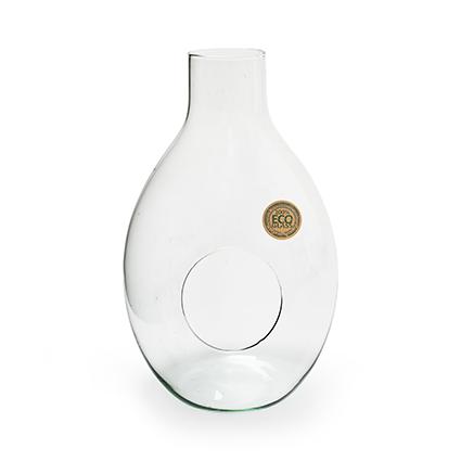 Eco vase 'brave' h37 d23 cm