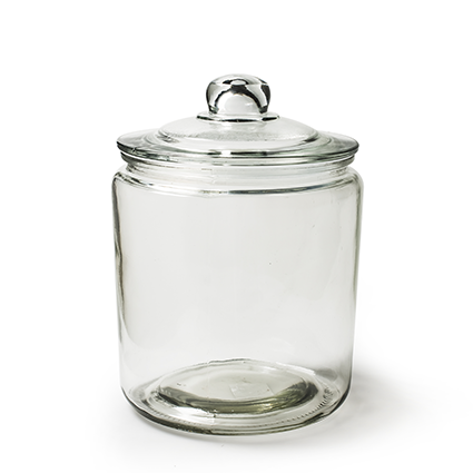 Candy jar 'cookie' h25,5 d18