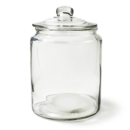 Candy jar 'cookie' h31 d20,5