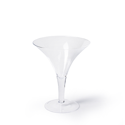 Glass 'martini' h30 d25 cm