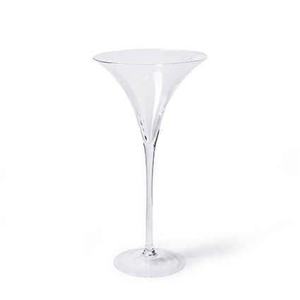 Glass 'martini' h50 d25,5 cm