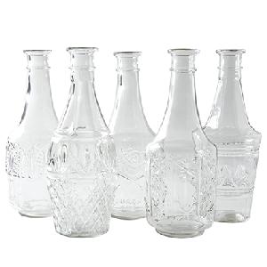 Bottle 'diamond' h28 d11 cm