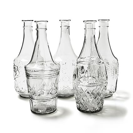 Bottle 'diamond' h33 d13 cm