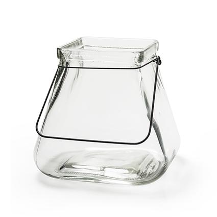 Vase 'cleo' L hanger h18d12/19