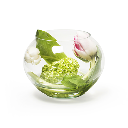 Eco bowl 'float' h10 d13 cm