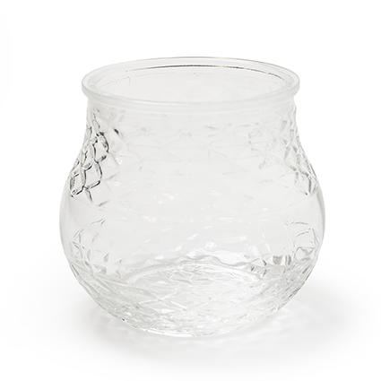 Jar no lid 'chlo'' h15 d15cm