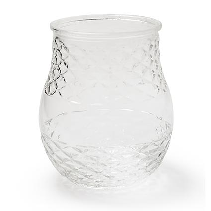Jar no lid 'chlo'' h19 d15cm
