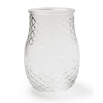 Jar no lid 'chlo'' h23 d15cm