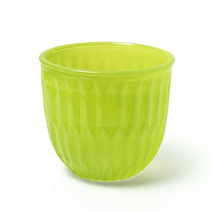 Vaas 'joey' groen h14 d15 cm