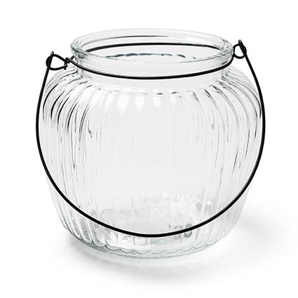 Jar 'britt' h13 d14cm