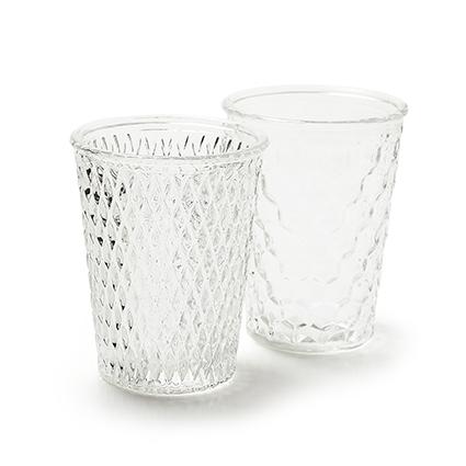 Vase mix 'r&b' 2-ass. h13 d10