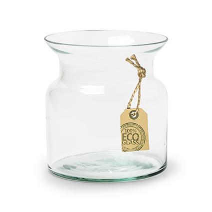 Eco vase 'nobles' h12 d12cm cc