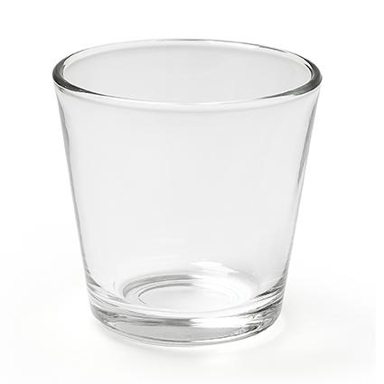 Conical vase 'titan' h7 d7.5 cm