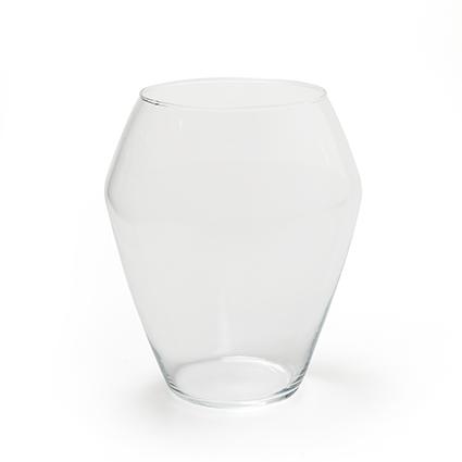 Vase 'amarillo' h20 d17 cm