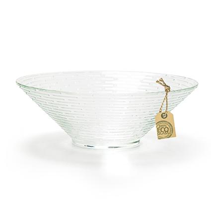 Eco bowl 'maze' h6,5 d18 cm