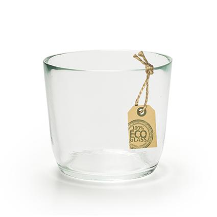 Eco glaspot 'vince' h9 d11,5 cm