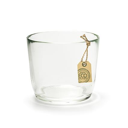 Eco glaspot 'vince' h11 d13 cm