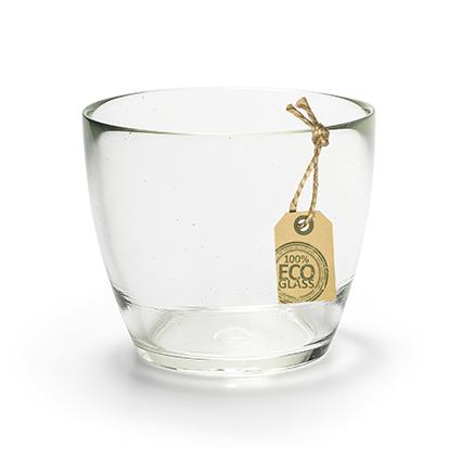 Eco glaspot 'pia' h9.5 d11.5 cm