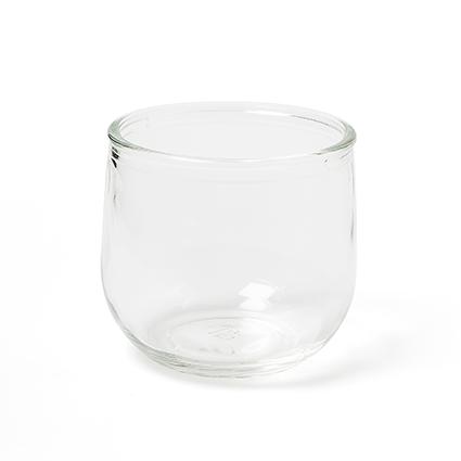 Glaspot 'jade' h7 d7,5 cm