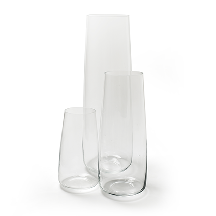 Vase 'helena' h65 d22cm cc