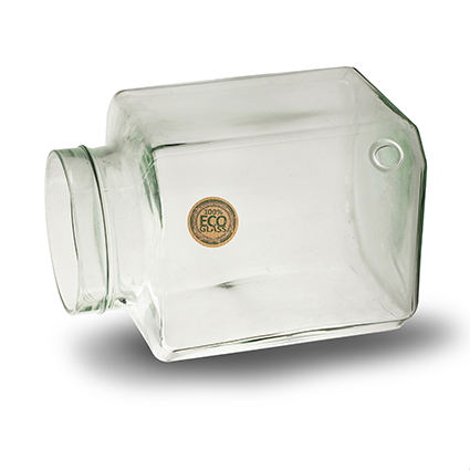 Eco vase 'nature's choice' square h20