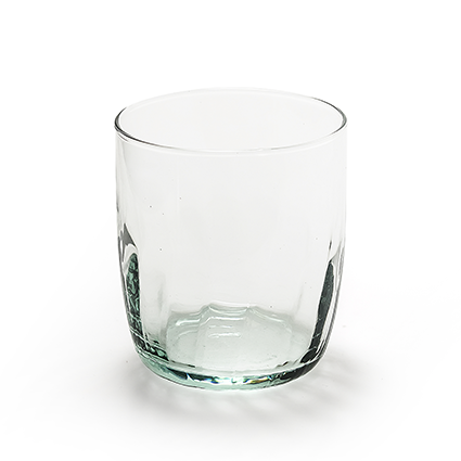 Eco glas optic h8,5 d8,5 cm