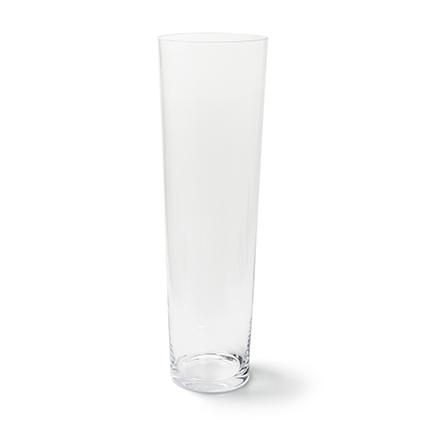 Conical vase h59 d18 cm cc