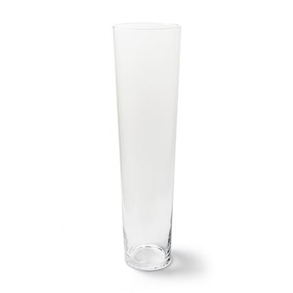 Conical vase h70 d19 cm