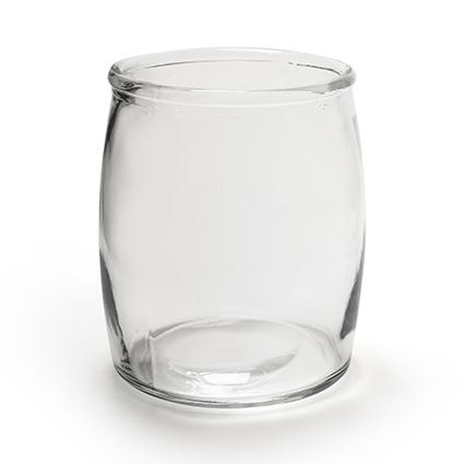 Glaspot 'bull' h18 d15 cm